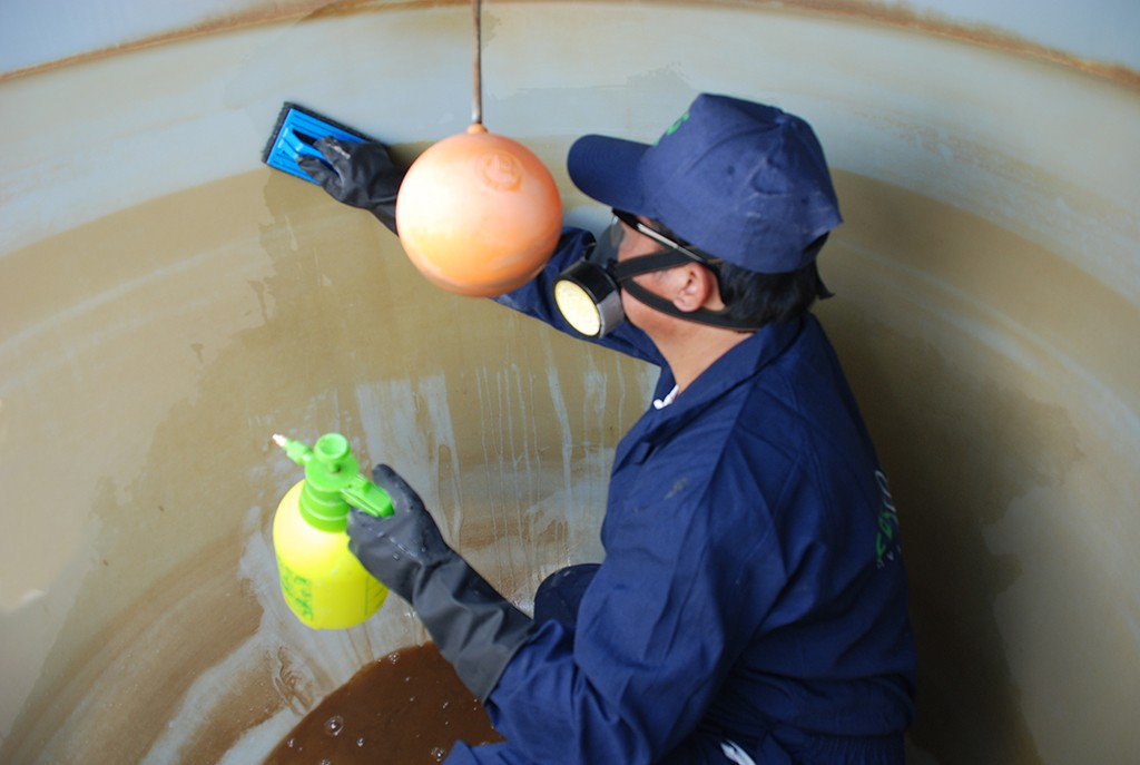 Water Tank cleaning & Pipeline Disinfection – EPSCO